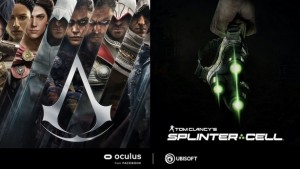 Ubisoft анонсирует Assassins Creed и Splinter Cell для VR-гарнитур