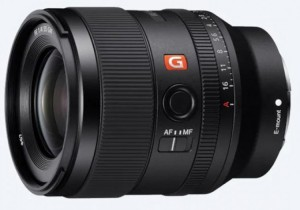 Объектив Sony FE 35mm F1.4 GM выйдет в апреле