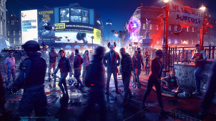 Экшен Watch Dogs: Legion выйдет на Xbox Series XS 10 ноября