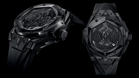 Hublot выпустили часы Big Bang Sang Bleu II All Black