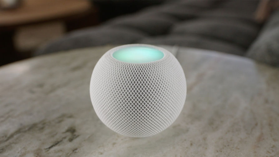 Apple представила смарт-колонку HomePod Mini